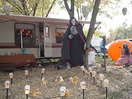 Outdoor Halloween Decorations Diy by Scary Outdoor Halloween Decorations Diy Trellischicago
