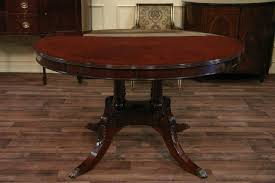 Traditional Dining Room Table Pictured In Mahogany Finish Italian Contemporary Sets