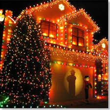 3 Put Christmas Lights On The Outside Of Your House