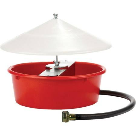 Miller Mfg Co Inc Little Giant Automatic Poultry Waterer - Red, 5qt