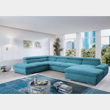 loftscape wohnlandschaft glenaire i hellblau strukturstoff