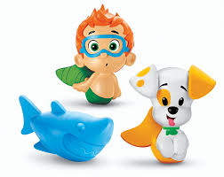 Bubble Guppies Bathroom Decor by Fisher Price Bubble Guppies Bath Squirters Nonny Bubble Puppy