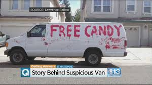 White Van With 'Free Candy' Painted In Red Makes Natomas Parents ... Watch A Freight Train Slam Into Ctortrailer Truck Filled With Got Candy More Is Takin It To The Streets Lot 915 1927 Dodge Graham Custom Candy Truck Cotton Candy And Popcorn Food Truck Va Waterfront Cape Town Food With Cotton On First Friday Dtown Las Vegas Eye 1950 Dodge Fargo Pickup The Star Sweet Life Orange County Trucks Roaming Hunger Auto Body Paint Supply Northern Nj Blue Custom 1988 Chevy Fire Car Wash App Youtube Old School 4x4 Belredadposterouomdschool4 Tuck Archdsgn Chocolate Praline Shop Fast Delivery Service