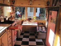 Unique Vintage Trailer Interior Ideas For Nice Trip And Vacation Fres Hoom