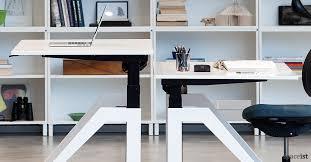 Kangaroo Standing Desk Uk by Standing Desk Uk Wood Stand Up Adjustable Hardwood 9 Desks Sit