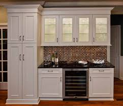 Kitchen Backsplash Ideas With Dark Oak Cabinets by Kitchen Contempo Kitchen Decoration Ideas Using Black Wood
