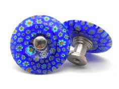 Glass Starfish Cabinet Knobs by Chrysocolla And Pyrite Cabinet Knobs Set Of 2 Stone Cabinet