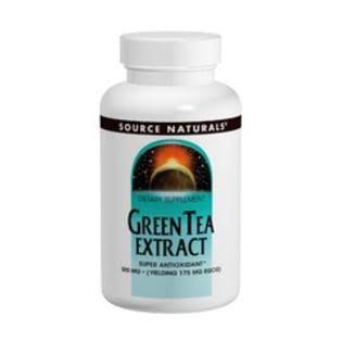 Source Naturals Green Tea Extract Dietary Supplement - 100mg, 120ct