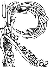Flower Alphabet 18 Is A Coloring Page From BookLet Your Children Express Their Imagination When They Color The Will