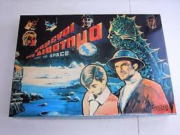 Vintage Very Rare Remoundo Lost In Space Greek Board Game Complete