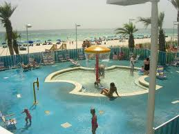 Boardwalk Beach Resort Condominiums Kiddie Pool Area
