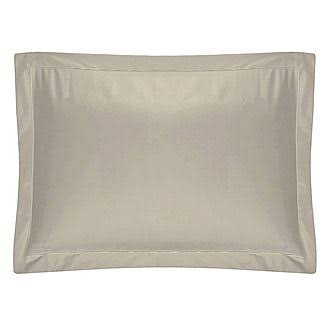 Belledorm Egyptian Cotton 200 Thread Count Oxford Pillowcase - Oyster