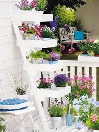Stacked Planter 55 Balcony Greenery Ideas