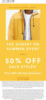 J.Crew Coupons - Extra 50% Off Sale Items Today At J.Crew ... Extra 25 Off Orders Over 100 J Crew Factory Jcrew Dealhack Promo Codes Coupons Clearance Discounts Shopping Deals November 2019 Gigantic Discount Code Mint Arrow In Store Online Printable Kicks Crew Promo Codes Old Navy Credit Card Cash Advance Free Shipping Coupon 2018 Best Deals Hotels Boston Jz Beauty Mens Wearhouse Coupons Printable Coupon For J Factory Store Food Uk 9 Things You Should Know About The Honey Plugin Gigworkercom