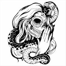 Tumblr Printable Halloween Coloring Pages For Adults Sugar Skull Mexican Tattoo Design Tattoos By Me