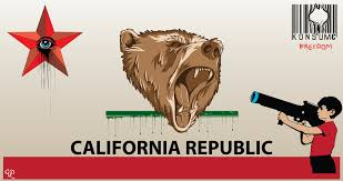 CVRedman California Republic Bear Flag Drawing From Deviantart