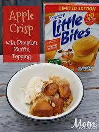 Dunkin Donuts Pumpkin Muffin 2017 by Apple Crisp With Pumpkin Muffin Topping Lovelittlebites Ad