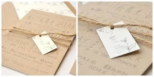 Save The Date With Twine Tag