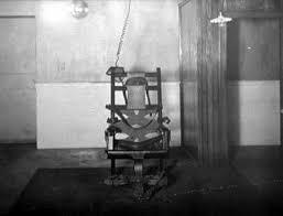 execution chaise electrique le fiasco de la première exécution sur la chaise électrique déjà