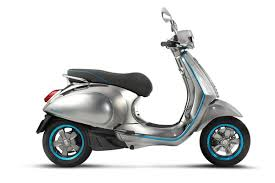 Vespas First Electric Scooter Looks Gorgeous