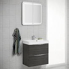 design badezimmer set hacienda braun spiegelschrank