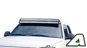 Silverado LED Light Bar Roof Mount Double Stack For 52 Inch Curved ...