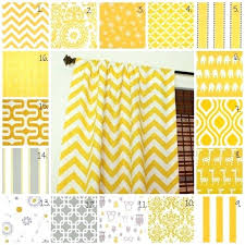 Yellow And Gray Kitchen Curtains by Yellow Patterned Kitchen Curtains Mustard Yellow Blackout Curtains