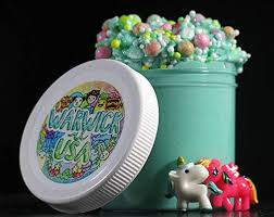 Unicorn Cereal Slime Scented