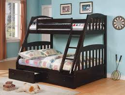 bunk beds twin over queen black simple bunk beds twin over queen