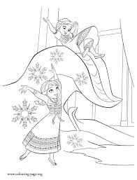 Frozen Coloring Pages Anna And Elsa 7