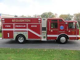 100 Mass Fire Trucks Stoughton MA EOne Custom Pumper Greenwood Emergency Vehicles LLC