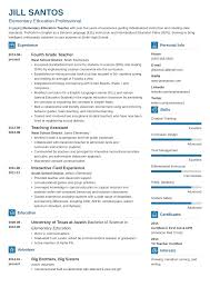 14+ Teacher Resume Examples (Template, Skills & Tips) 14 Teacher Resume Examples Template Skills Tips Sample Education For A Teaching Internship Elementary Example New Substitute And Guide 2019 Resume Bilingual Samples Lead Preschool Physical Tipss Und Vorlagen School Cover Letter 12 Imageresume For In Valid Early Childhood Math Tutor