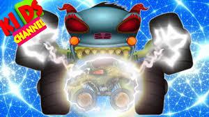 Scary Monster Truck – Kids YouTube