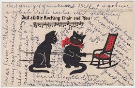 Two Cats And A Rocking Chair | Laurel Cottage Genealogy