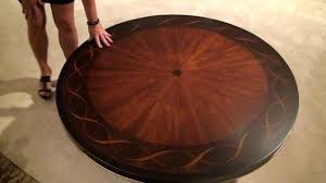 bob mackie home signature ribbon round pedestal dining table by