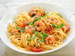 The Kick Is Not Only In Spice But How Much Better This Recipe Compared To Any Other Garlic Shrimp Pasta Youve Ever Had