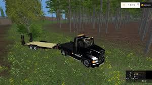 MACK TRUCK SINGLE AXLE FLATBED TRAILER V 1.0 - Farming Simulator ...