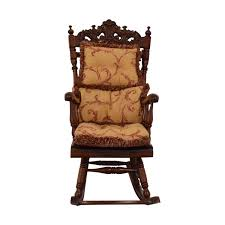 87% OFF - Carved Wood Rocking Chair With Cushions / Chairs Reupholstering A Chair The Saga Part I Stonegable Metal Rocking Chairs One Off Chair Design India Cafojapuqetop Set Of 4 Vintage Ethan Allen Chairs This Set Includes Wildkin Royal Features Removable Plush Cushions And Gilded Tassels Perfect For The Little Princess In Your Life White Fniture Update Decor With Cheap For Accent Millionaires Daughter Enchanting Top Collection Berwick British Colonial Style Caned Lounge Balta Seagrass Armchair Ottoman Pillow Ethan Allen Set Of 2 Wicker Rocker Nsignfniturenowcom Home