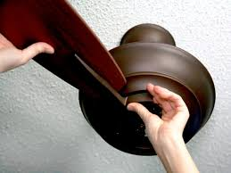 Replacement Ceiling Fan Blade Arms by How To Replace A Light Fixture With A Ceiling Fan How Tos Diy