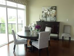 Dining Room In Model Home Modern