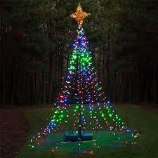 DIY Christmas Ideas LED Lights Tree