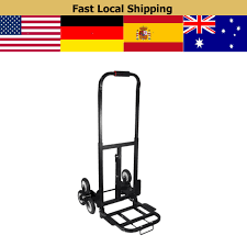 Online Shop 200kg Stair Climbing Cart Folding Hand Truck Stair ...