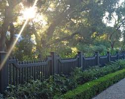 Decorative Garden Fence Posts by Pergola Black Metal Fencing Uk Stunning Metal Fence Stakes Lowes