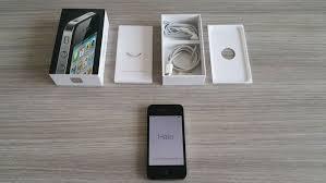 iPhone 4 8GB Black plete in box model A1332 Catawiki