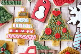 Homespun Christmas Tree Decorated Cookies Tutorial