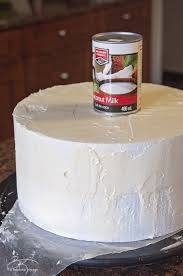 Use A Soup Can For Your Styrofoam DIY Wedding Cake This Three Tiered