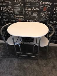 Small WHITE Table And Chairs | In Stalybridge, Manchester ... Home Page Fniture One 22 Best Cafs And Coffee Shops In Paris Cond Nast Traveler Diy Motorized Table Conceals 4k Lg Projector A Selection Of Unique Tables For Revamped Living Rooms Traditions 3piece Patio Bistro Set With 2cast Alinum Swivel Rockers Beige Cushions 32 Round Chairs Formssurfaces Lamp Buy Online Or Click Collect Leekes Crank Industrial Vintage The Expandable Ding Room For Small Spaces Viennese Coffee House Wikipedia Bar Stools Coaster And Casual Us 7513 37 Offbar Morden Pinewood Top Chair Height Adjustable Counter Pipe Style Kitchen Chairin