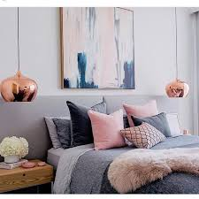 Imposing Decoration Pink And Gray Bedroom Bedrooms Design Ideas Image Gallery Collection