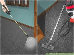 Fleas Live On Wood Floors by 4 Easy Ways To Get Rid Of Fleas In Carpets Wikihow