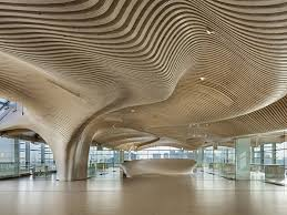 100 Wood On Ceilings Undulating Wood Ceilings Of E Main Office Renovation